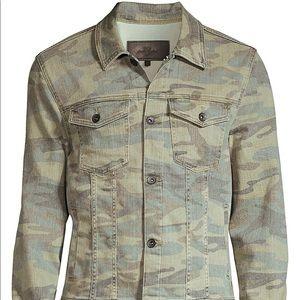 🆕 7 For All Mankind Camo Jacket, Men's Medium